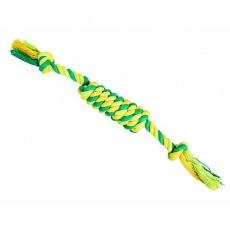 Uzel válec HipHop bavlněný se 2  knoty 38 cm / 100 g limetková, zelená