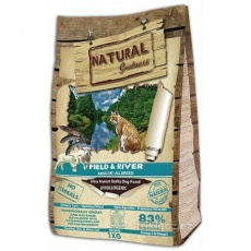 Natural Greatness Field,River Cat Recipe /losos,jehně/ 600g