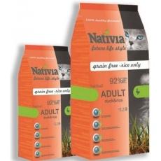 Nativia Adult Duck & Rice Hairball 10kg