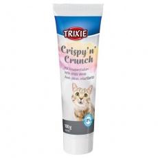 Crispy´n´crunch, pasta pro kočky s křupavými kousky, 100g