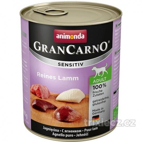 Animonda Gran Carno Sensitive Jahňacie  800 g