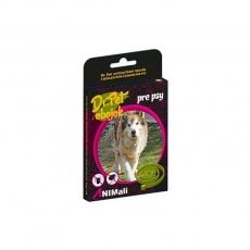 Obojok Dr.Pet pre mačky 43 cm antiparazitárny ČERVENÝ s repelentným účinkom