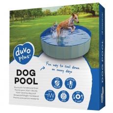 Bazén DUVO+ pre psy, modrý, priemer 80x30cm