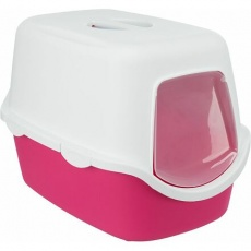 WC VICO kryté s dvířky, bez filtru 56 x 40 x 40 cm, růžová/bílá