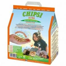 CHIPSI ULTRA jemný granulát, podestýlka pro hlodavce  4,3 kg 10 l