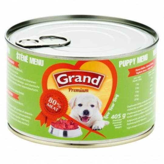 Grand Premimum Puppy Menu 6 x 405g