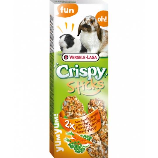 Versele Laga Crispy Sticks Mrkva & Petržlen 2 ks 110 g