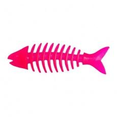 Barevná rybička dentální malá voňavá, tvrdá guma 14 cm