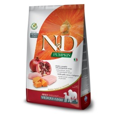 N&D Dog Pumpkin Adult Medium & Maxi Chicken & Pomegranate 12kg