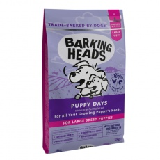 BARKING HEADS Puppy Days NEW (Large Breed) 18 kg