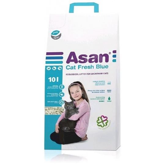 ASAN Fresh Blue pre mačky a fretky 10 L (2 kg)