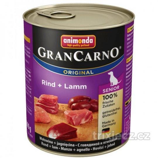 Animonda Gran Carno Senior Hovädzie & Jahňacie 800 g