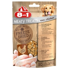 8in1 Freeze Dried Meaty Treats se 100% kuracie