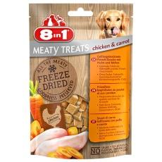 8in1 Freeze Dried Meaty Treats Chicken & Carrot 50 g kura s mrkvou