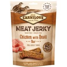 Carnilove Dog Jerky Chicken with Quail Bar 100g
