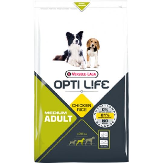 Versele Laga Opti Life Dog ADULT Medium  2,5 kg