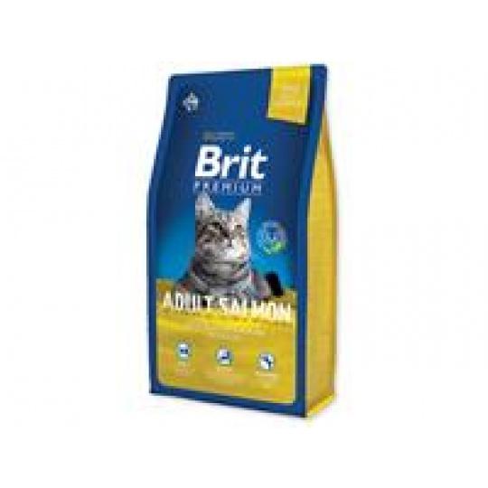 Brit Premium cat Adult Salmon  0,8 kg