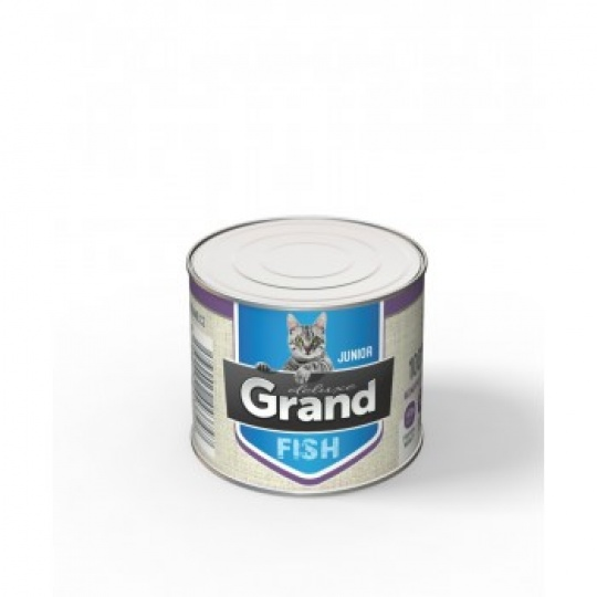 Grand Deluxe Cat 100% Ryba Junior 180 g