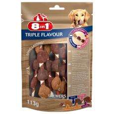 8in1 Triple Flavour Špízy 113 g