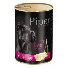 PIPER s hovězími dršťkami, konzerva pro psy 400g