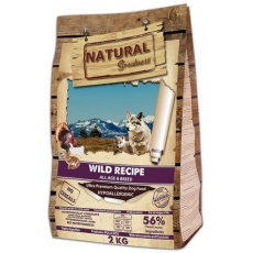 Natural Greatness Wild Recipe All Breed /kačica,morka,kura/ 2 kg