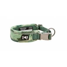 Hurtta Weekend Warrior obojok zelený camo 55-65cm