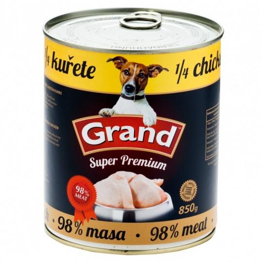 Grand SuperPremium 1/4 Kuraťa 850 g