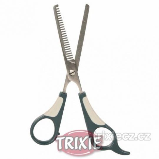 TRIXIE Efilačné prestrihávacie nožnice jednostranné 18 cm