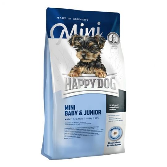 Happy Dog Supreme  Mini Baby & Junior Losos  29/16 300 g