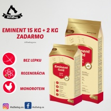 Eminent Gold Adult 29/16 15 kg + 2 kg ZADARMO