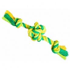 Míč se 2 rameny HipHop bavlněný, limetková, zelená