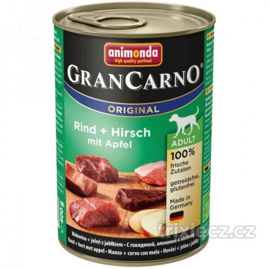 Animonda Gran Carno Adult Jeleň & Jablko 400 g