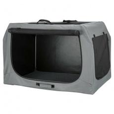 Skládací cestovní box EASY, M-L: 95 x 63 x 69cm, šedý