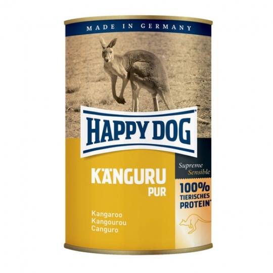 Happy Dog Konzerva Kanguru Pur Klokanie mäso 400 g
