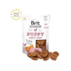 Brit Jerky Puppy Turkey Meaty Coins 80g