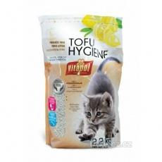 Podestýlka TOFU citrónová, hrudkující pro kočky 3,8 L -
