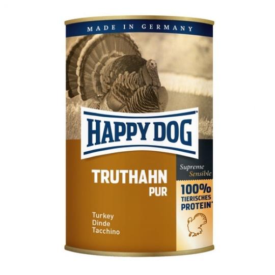 Happy Dog Konzerva Truthahn Pur Morčacie mäso 400 g