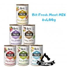 Brit konzerva Fresh Mix Pack 6 x 400 g
