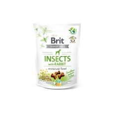 Brit Care Dog Crunchy Cracker. Insects with Rabbit 200g