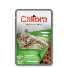 Calibra KAPSIČKA Premium cat Sterilised Losos v omáčke 100 g
