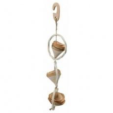 Závěsná hračka z přírodních materiálů 32 cm - DOPRODEJ