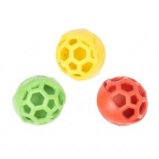 Hračka DUVO+ gumená lopta, polootvorená 11,5cm