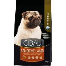 CIBAU Adult Sensitive Lamb & Rice Mini 2,5  kg