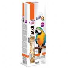LOLO SMAKERS MEGA 2 klasy ořech-kokos pro velké papoušky 450 g