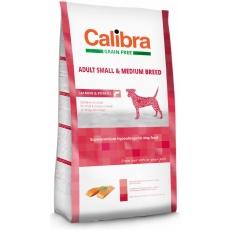 Calibra Dog GF Adult Medium & Small Salmon 12 kg + 3 kg