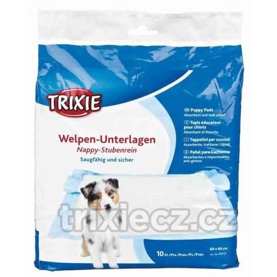 TRIXIE Podložky / Plienky pre šteňatá 10 ks 60 x 60 cm