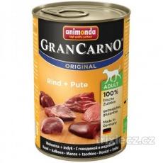 Animonda Gran Carno Adult Hovädzie & Morka 400 g