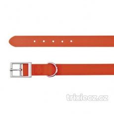 Easy Life obojok PVC L 51-59 cm/25 mm neon oranžový