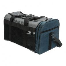 Transportní taška SAMIRA, 31 x 32 x 52, šedá/modrá