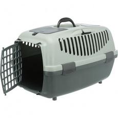 Be Eco Capri 3 transportní box, S: 40 x 38 x 61 cm, antracit/ šedo-zelená